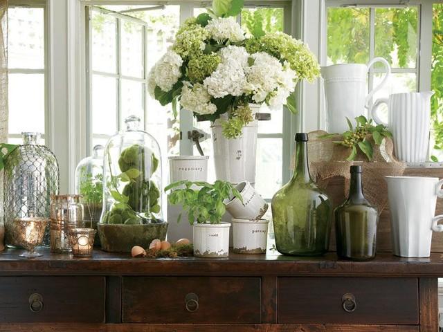 Pottery Herb Pots