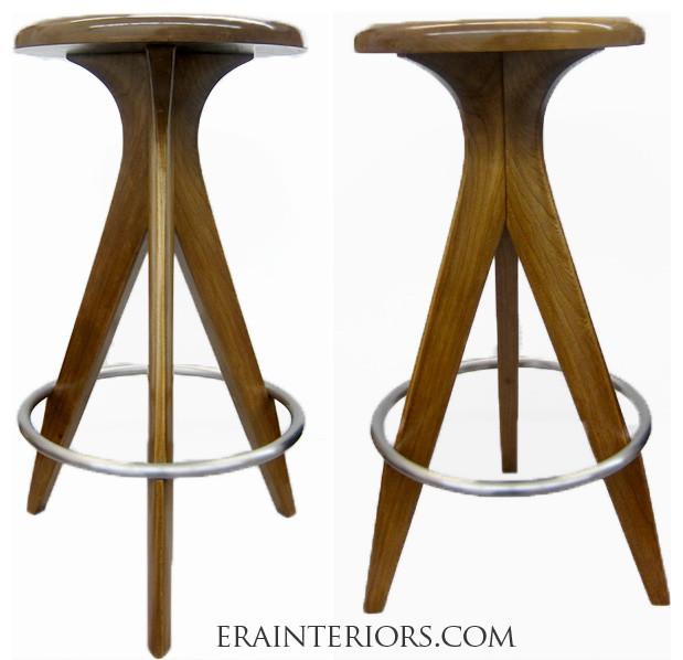 MID-CENTURY MODERN COUNTER/BAR STOOLS - Modern - Furniture - new york - by ERA Interiors