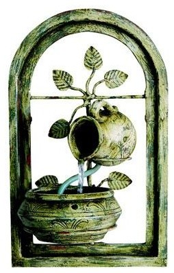 Florence Wall Art Water Featre traditional-magazine-racks
