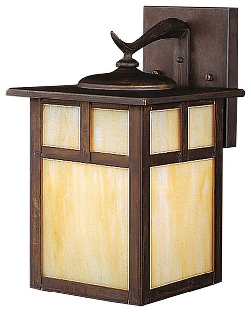 KICHLER Alameda Arts And Crafts Mission Outdoor Wall Sconce X VC1569 Transiti
