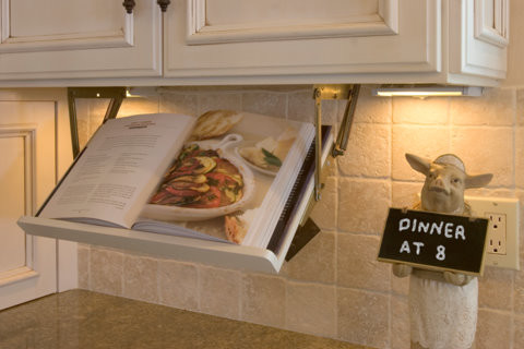 From Wine Glasses, To Accent Lighting, Or Some Handy Retractable Storage  For A Small Flat Screen Tv, Or Cookbook. Donu0027t Let This Space Go To Waste.