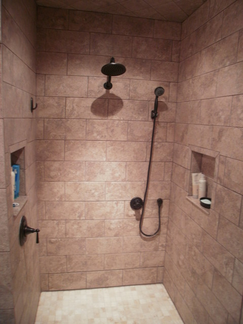 Showers - Traditional - Bathroom - other metro - by G & L Restoration