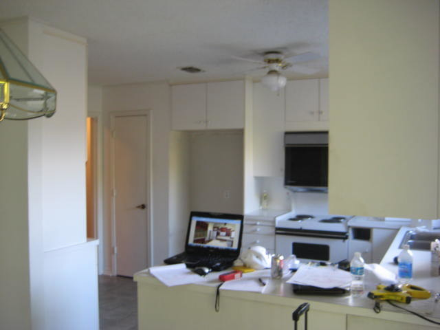 Kitchen Before Remodel transitional