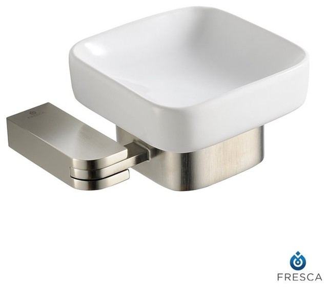 Fresca Solido Wall Mounted Ceramic Soap Dish Modern
