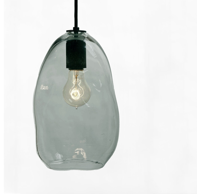 hand blown bubble glass pendant light modern pendant lighting