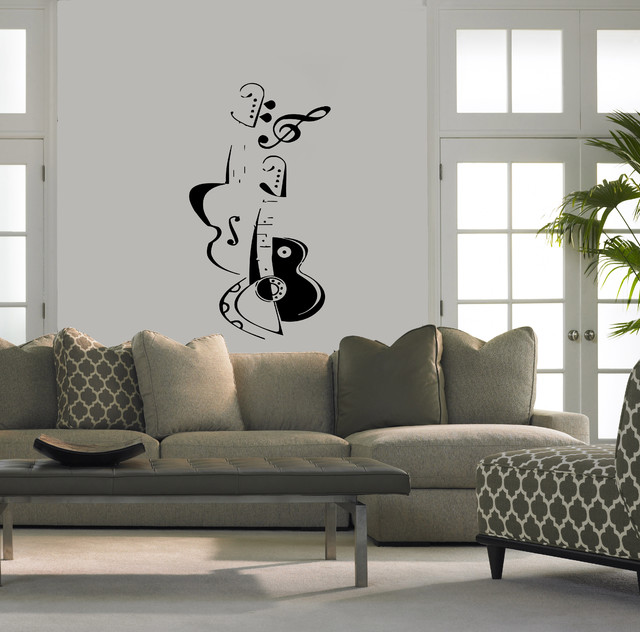 Modern vinyl wall art decals