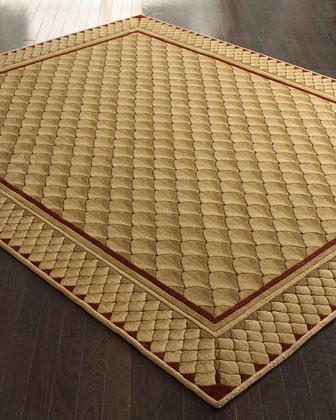 Fishscale Rug, 5'3 x 8'3 traditional-rugs