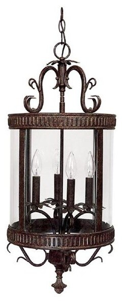 Capital Lighting 3323TS 3 Light Foyer Fixture pendant-lighting