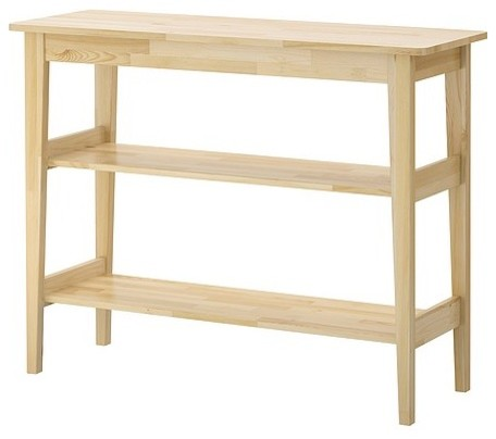 Svalbo sideboard scandinavian buffets and sideboards for Pine sideboard ikea