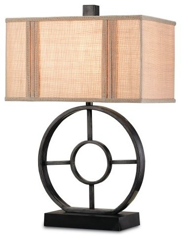 Currey and Company Paxton Table Lamp contemporary-table-lamps