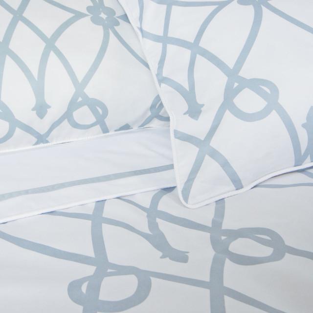 Geometric Print Signature Designer Duvet Cover, The Lombard modern-duvet-covers-and-duvet-sets