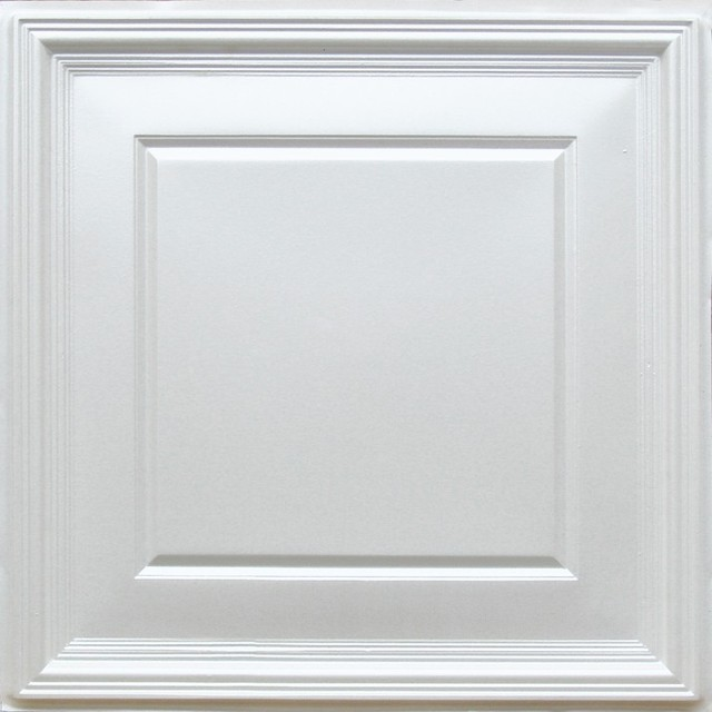 224 White Pearl Decorative Ceiling Tiles 24x24 Ceiling