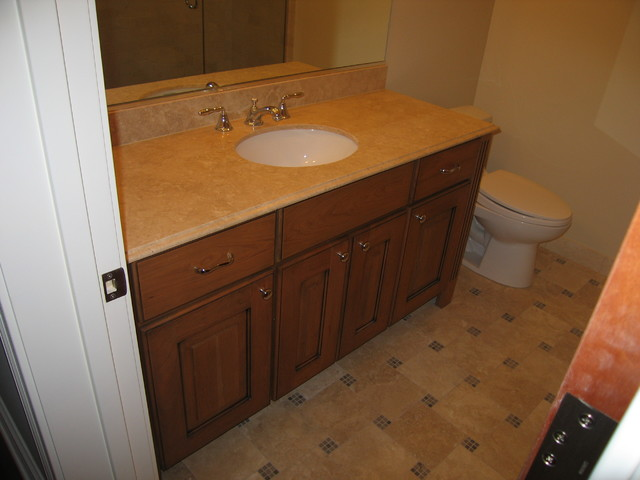 Amish Custom Kitchen - Vanities bathroom