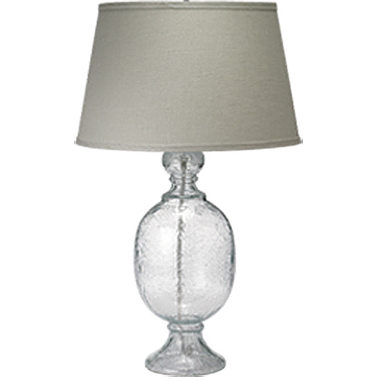 Jamie Young Co. Small St. Charles Table Lamp Clear traditional table lamps
