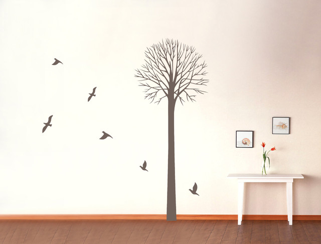 Tree Wall Decals Wall Stickers for nursery room living room kids eclectic