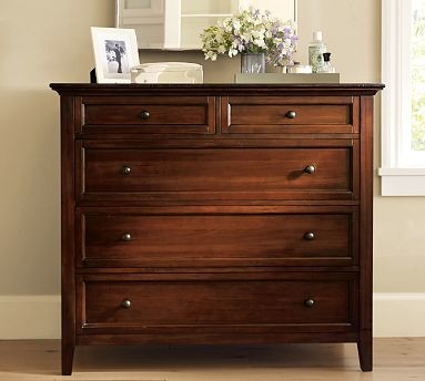 Hudson Dresser, Mahogany stain traditional-dressers-chests-and-bedroom-armoires