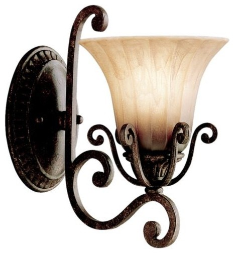 Traditional Cottage Wall Lights : Cottage Grove Wall Sconce by Kichler - Traditional - Wall Lighting - by Lumens