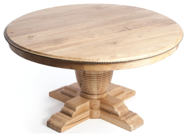 Round Dining Table With Leaves Farmhouse Dining Tables Other
