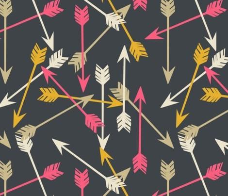 arrows scattered wallpaper contemporarywallpaper