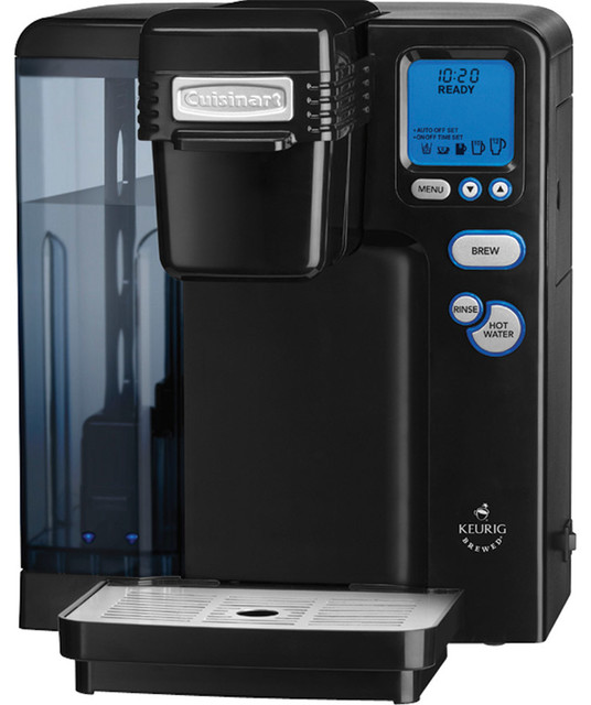 Cuisinart Coffee Maker Or Keurig : Cuisinart Keurig K-Cup Single-Serve Brewing System Black - Contemporary - Coffee And Tea Makers ...
