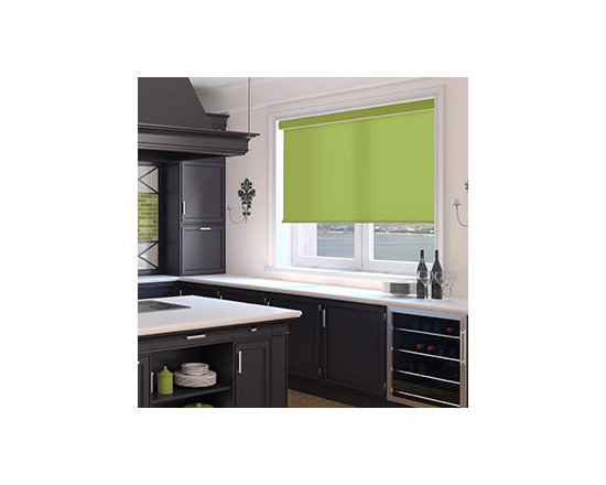 Simply Chic - Kellie Clements Simply Chic Roller Shades: Solid Colors - Simply Chic solid color roller shades provide a designer color selection in a high-quality roller shade thats fully customizable.  Choose from updated whites, easy neutrals and colors that enhance your decor.