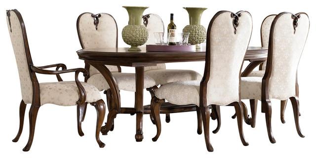 American Drew Jessica McClintock 7 Piece Oval Dining Room