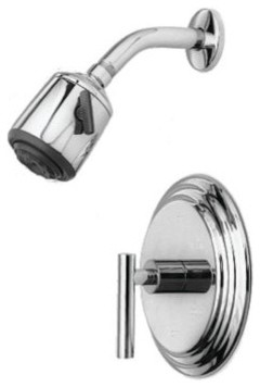 Trim Only For 994LBP Satin Antique Nickel modern-bathroom-faucets-and-showerheads