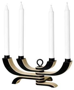 Design House Stockholm Nordic Light Candelabra modern-candles-and-candle-holders