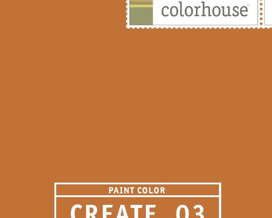 Colorhouse CREATE .03 - Colorhouse CREATE .03: Fresh baked pumpkin pie. Instant warmth. This hue inspires good conversation. Use in libraries and dens.