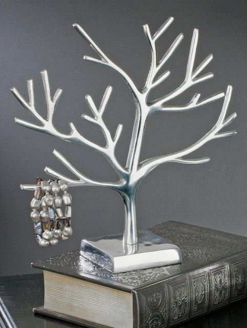 Aluminum Jewelry Display Tree, 12