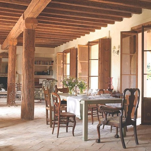 What Is The Typical Stain Color For A Rustic Italian Patio