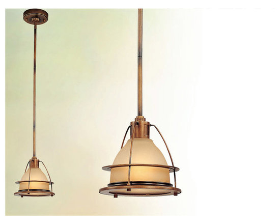 Bristol Bay Mini Pendant by Troy Lighting