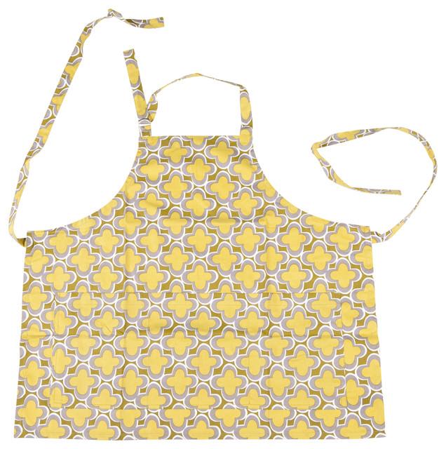 Marrakech Hostess Collection - Apron - Gecko contemporary-aprons