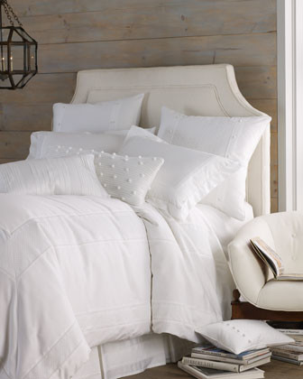 Pine Cone Hill King Classic Ruffle Sheet Set traditional-sheet-and-pillowcase-sets