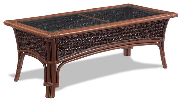 rattan coffee table tigre bay tropical coffee tables. Black Bedroom Furniture Sets. Home Design Ideas