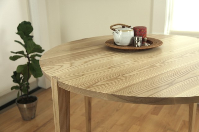 Oslo Round Table contemporary-dining-tables