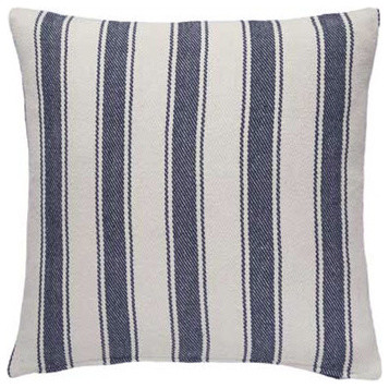 Dash and Albert Blue Awning Throw Pillow traditional-kids-bedding