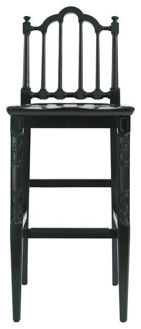 Charleston Regency Chippendale Bar Stool, Charleston Green traditional-bar-stools-and-counter-stools