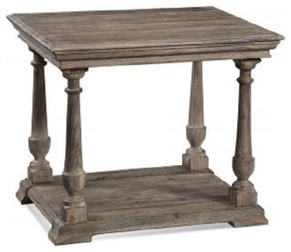 Bassett Mirror Pemberton Rectangular End Table T2527 200 Traditional Coffee Tables