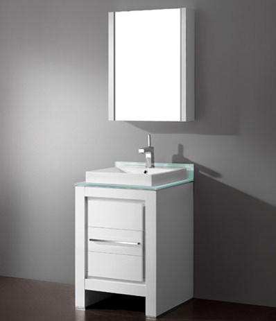 White Bathroom Vanities modern bathroom vanities and sink consoles