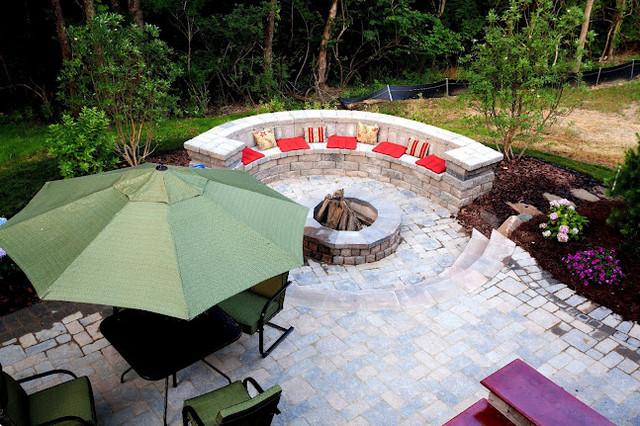 Homearama 2012 traditional-patio
