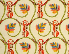 Tropical Fabric eclectic fabric