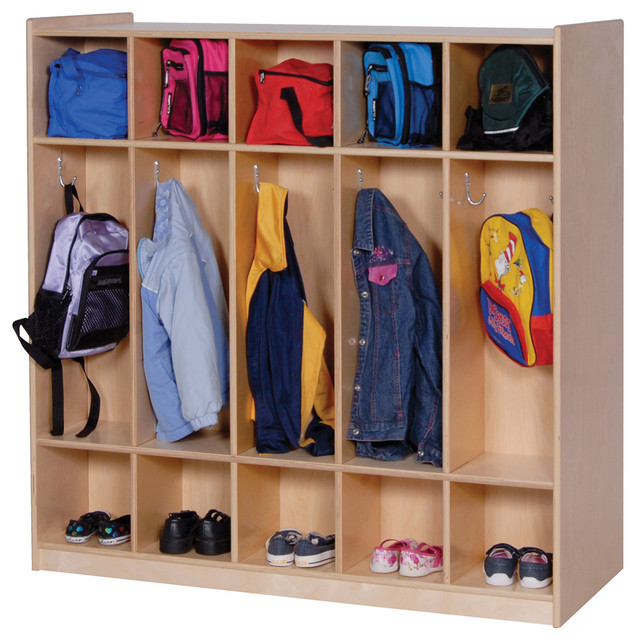 Steffywood Kids Room 10 Section Coat Shoe Storage Two
