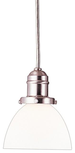 Hudson Valley Lighting Vintage Transitional Mini Pendant Light X-328-NS-2013 transitional-pendant-lighting
