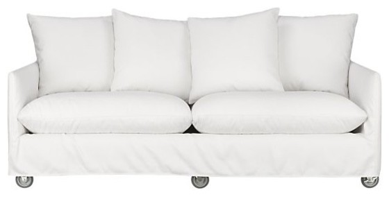 Catalina Apartment Sofa with Casters modern-sofas