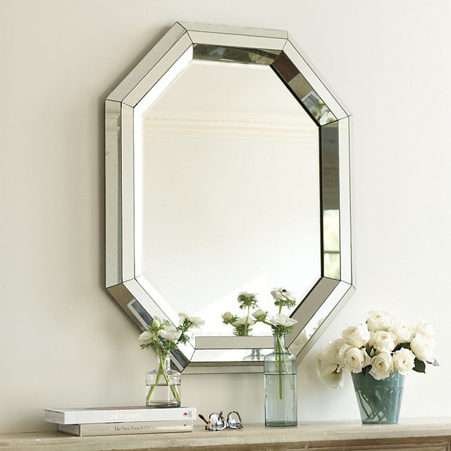 crystalle mirror traditional mirrors by ballard designs