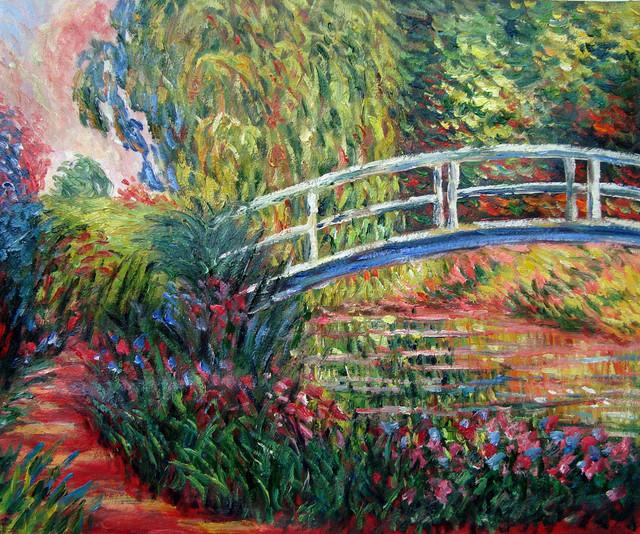 Claude monet oil paintings traditional artwork for Claude monet artwork