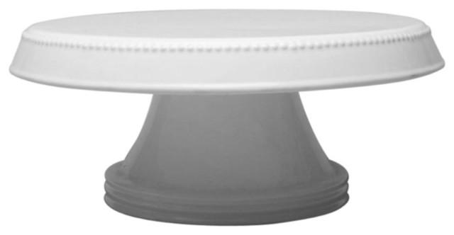 Tag Flea Market Large Earthenware Cake Plate modern-plates