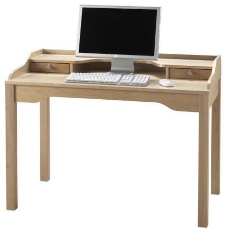 GUSTAV Desk with shelf unit Scandinavian Desks And