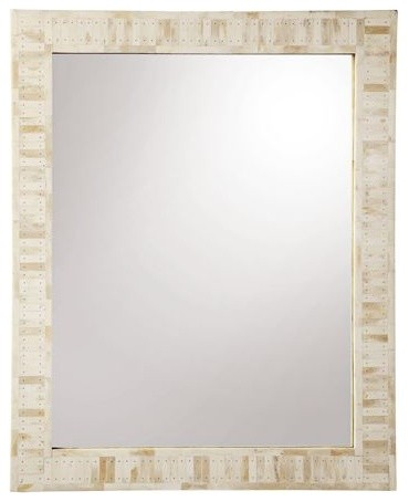 Cyprus Bone Inlay Mirror  Large traditional-wall-mirrors